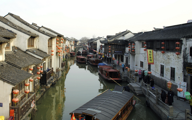 Shan Tang Street, Suzhou, China