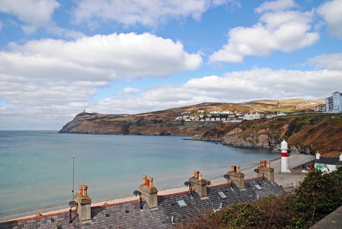 Port Erin的阳光海岸
