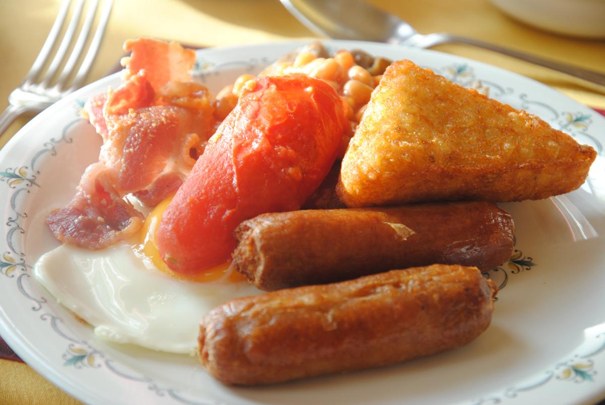 酒店老板提供的早餐——主食