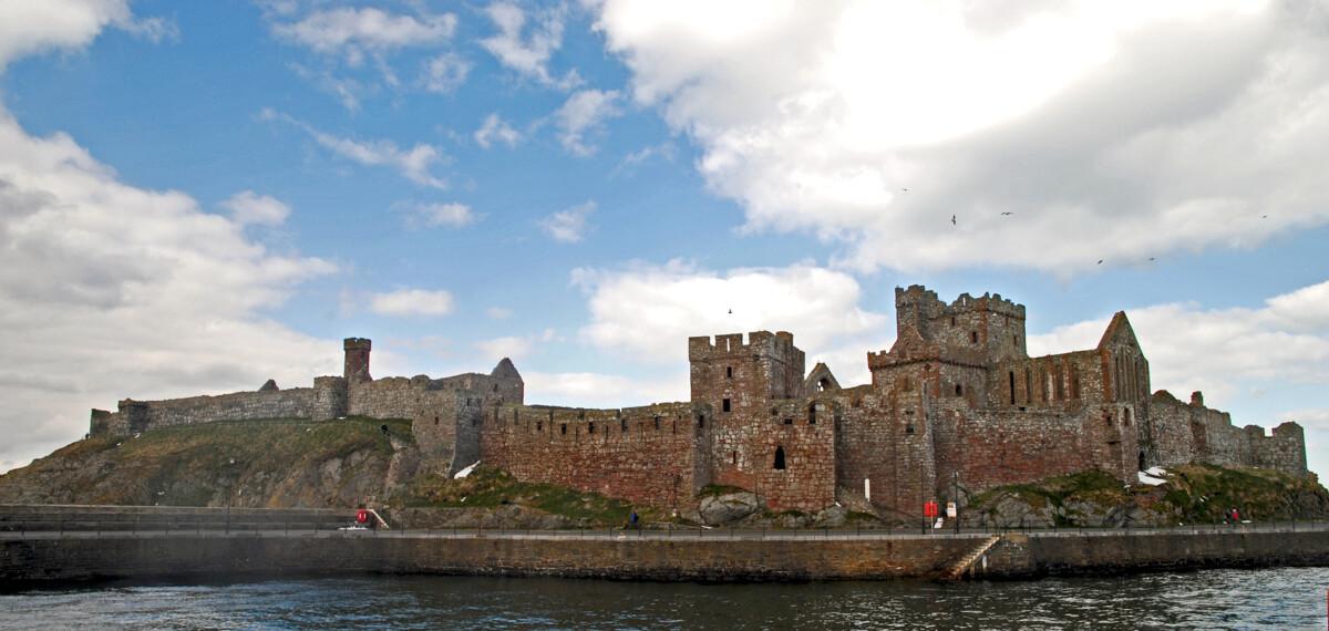 Peel城堡全貌