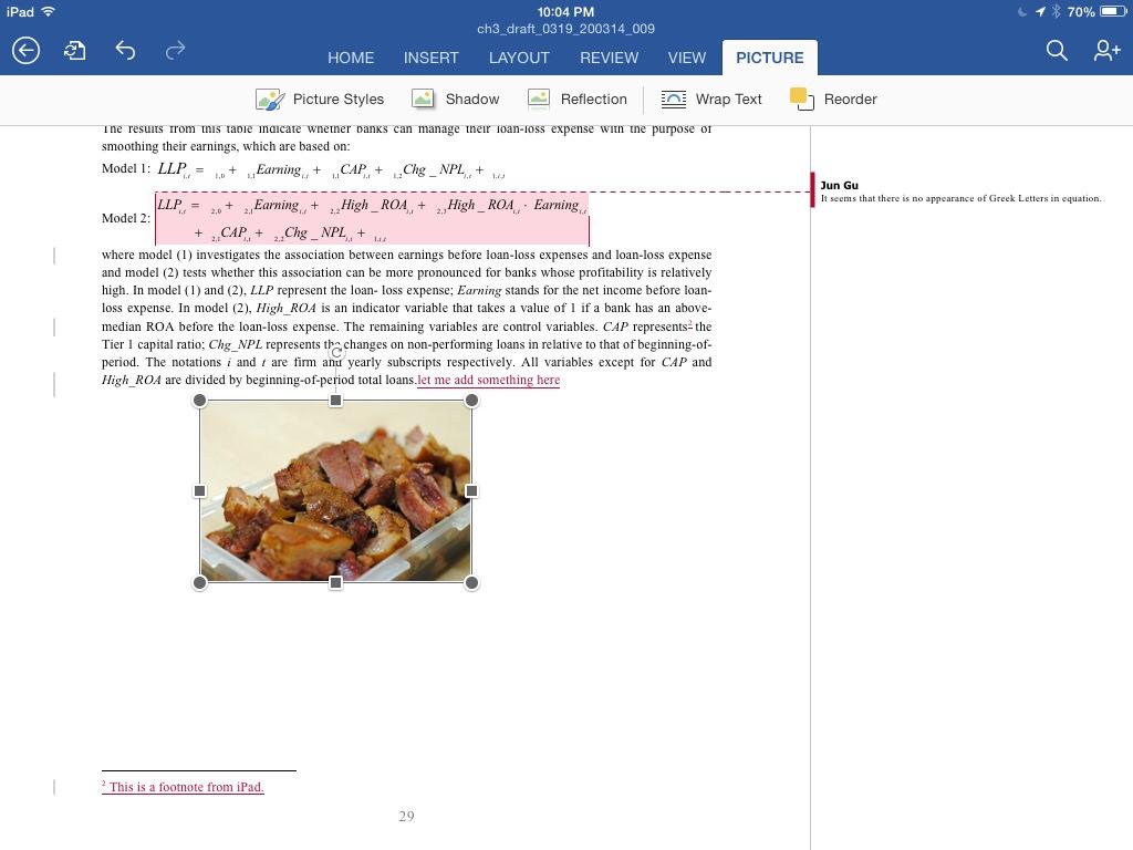 一个ipad 修改实例
